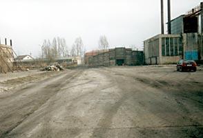 Plac na którym rozpoczęto inwestycję
