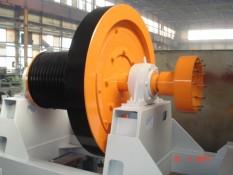 Młyny » Przystawka napędu kruszarki młotkowej typ 0.80 (produkcja)
